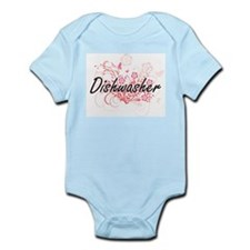 Dishwasher Artistic Job Design with Flow Body Suit