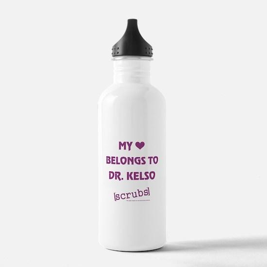 MY HEART BELONGS TO... Water Bottle