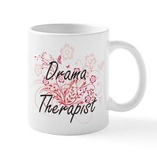 Drama Therapist Artistic Job Design with Flow Mugs