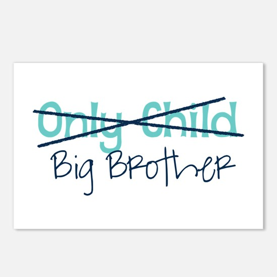 Only Child - Big Brother Postcards (Package of 8)