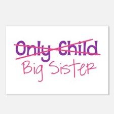 Only Child - Big Sister Postcards (Package of 8)