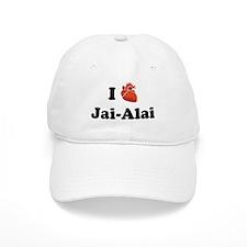 I (Heart) Jai-Alai Baseball Cap