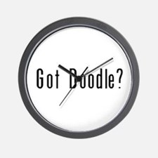 Got Doodle? Wall Clock