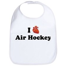 I (heart) Air Hockey Bib