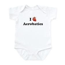 I (Heart) Aerobatics Infant Bodysuit