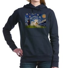 Funny Famous art Women's Hooded Sweatshirt