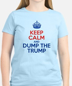 Keep Calm And Dump The Trump T-Shirt