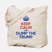 Keep Calm And Dump The Trump Tote Bag