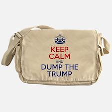 Keep Calm And Dump The Trump Messenger Bag