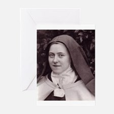 Saint Therese Of Lisieux Greeting Cards (Pk of 20)