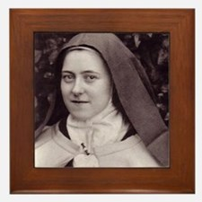 Saint Therese Of Lisieux Framed Tile