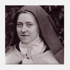 Saint Therese Of Lisieux Tile Coaster