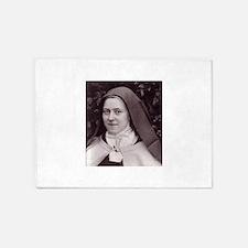 Saint Therese Of Lisieux 5'x7'Area Rug