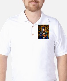 Our Lady Of Perpetual Help Golf Shirt