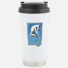 Cute Russell terrier Travel Mug