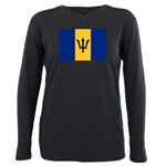 Barbados.jpg Plus Size Long Sleeve Tee