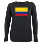 Colombia.jpg Plus Size Long Sleeve Tee