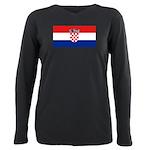 Croatia.jpg Plus Size Long Sleeve Tee