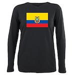 Ecuador.jpg Plus Size Long Sleeve Tee