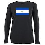 El Salvador.jpg Plus Size Long Sleeve Tee