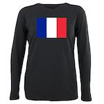 France.jpg Plus Size Long Sleeve Tee
