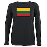 Lithuania.jpg Plus Size Long Sleeve Tee