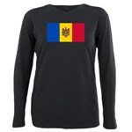 Moldova.jpg Plus Size Long Sleeve Tee