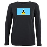 Saint Lucia.jpg Plus Size Long Sleeve Tee