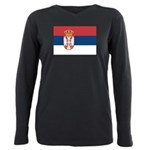 Serbia.jpg Plus Size Long Sleeve Tee