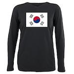 South Korea.jpg Plus Size Long Sleeve Tee