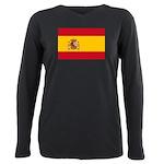 Spain.jpg Plus Size Long Sleeve Tee