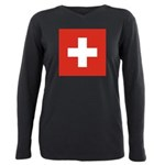 Swizterland.jpg Plus Size Long Sleeve Tee