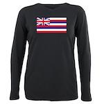 Hawaii.jpg Plus Size Long Sleeve Tee