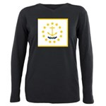 Rhode Island.jpg Plus Size Long Sleeve Tee