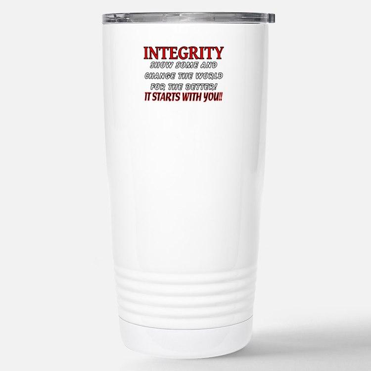Cute Integrity Travel Mug