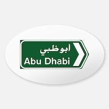 Abu Dhabi, United Arab Emirates Decal