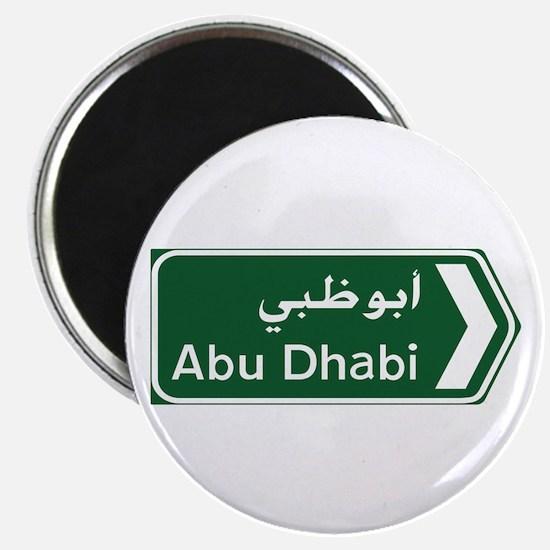 Abu Dhabi, United Arab Emirates Magnet