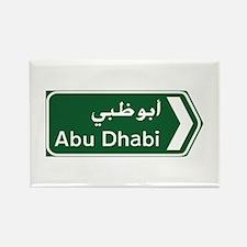 Abu Dhabi, United Arab Emirates Rectangle Magnet