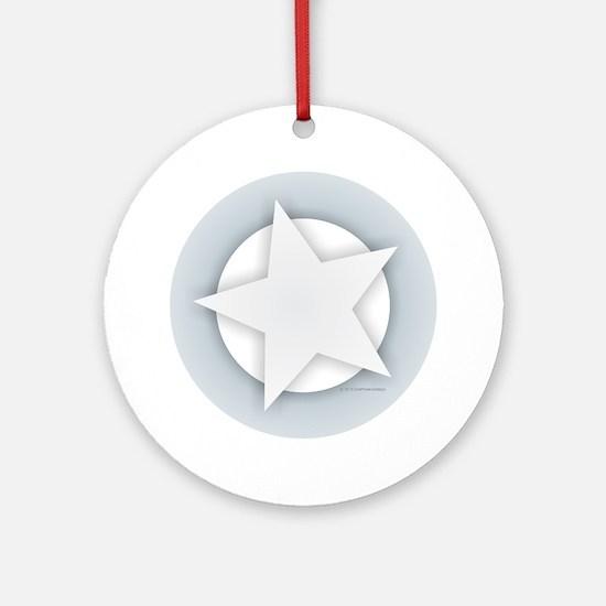 Unique Super star Round Ornament