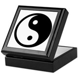 Yin yang keepsake box Keepsake Boxes