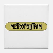 Metro Paris, France Tile Coaster