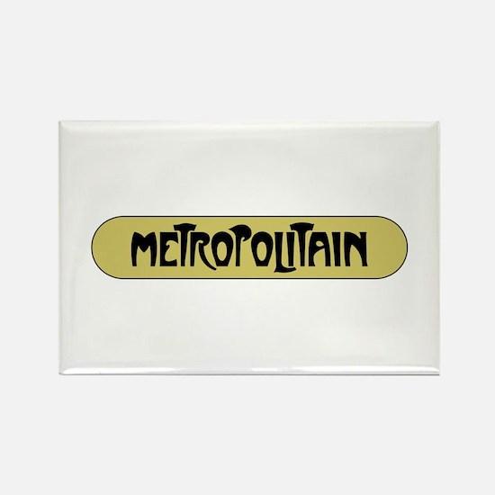 Metro Paris, France Rectangle Magnet