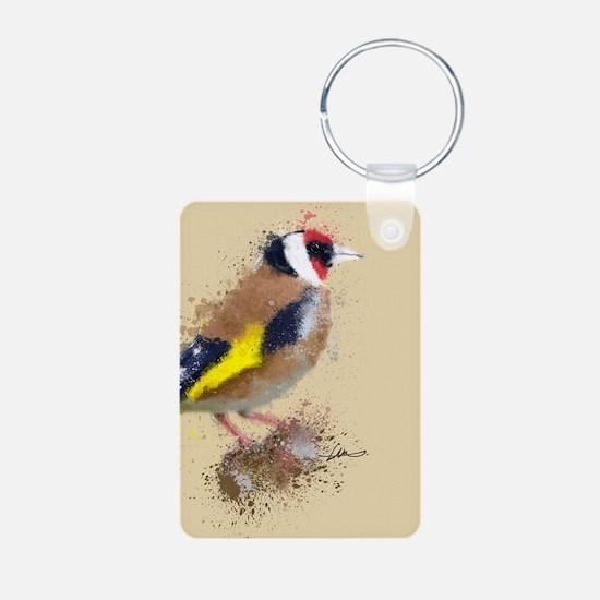 Gold Finch Keychains