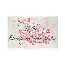 Higher Education Administrator Artistic Jo Magnets