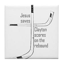 Travis Clayton scores Tile Coaster