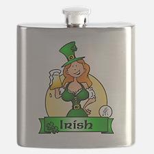 St. Patrick's Day Irish Maiden Flask