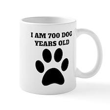 100th Birthday Dog Years Mugs