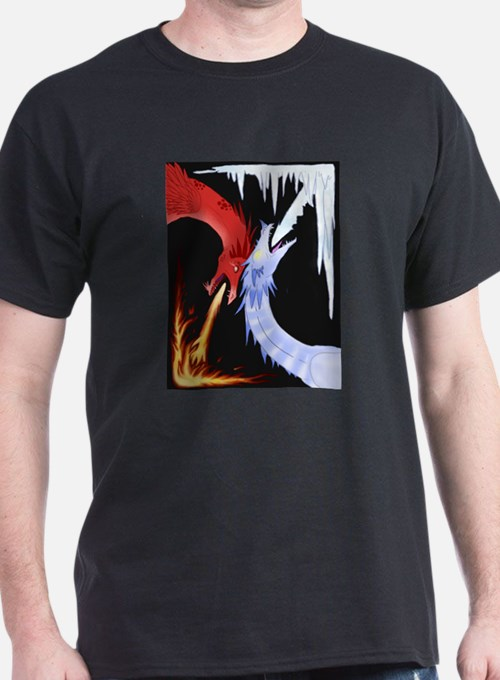 Cute Fire and ice T-Shirt