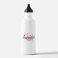 Journalist Artistic Jo Water Bottle