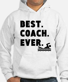 Best Coach Ever Swimming Hoodie